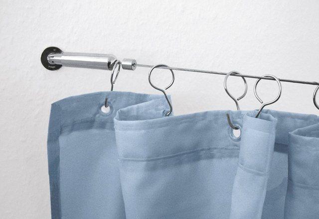 Seilsystem für Duschvorhang