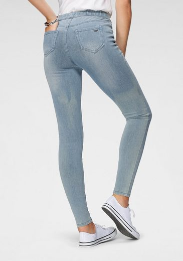 Arizona Jogg Pants »High Waist« in Denim-Optik