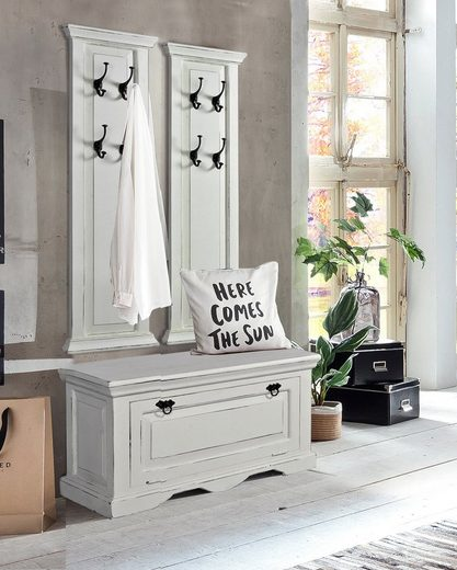 SIT Garderoben-Set »Toledo«, (3-St), im Shybby Chic Stil, 3-teilig