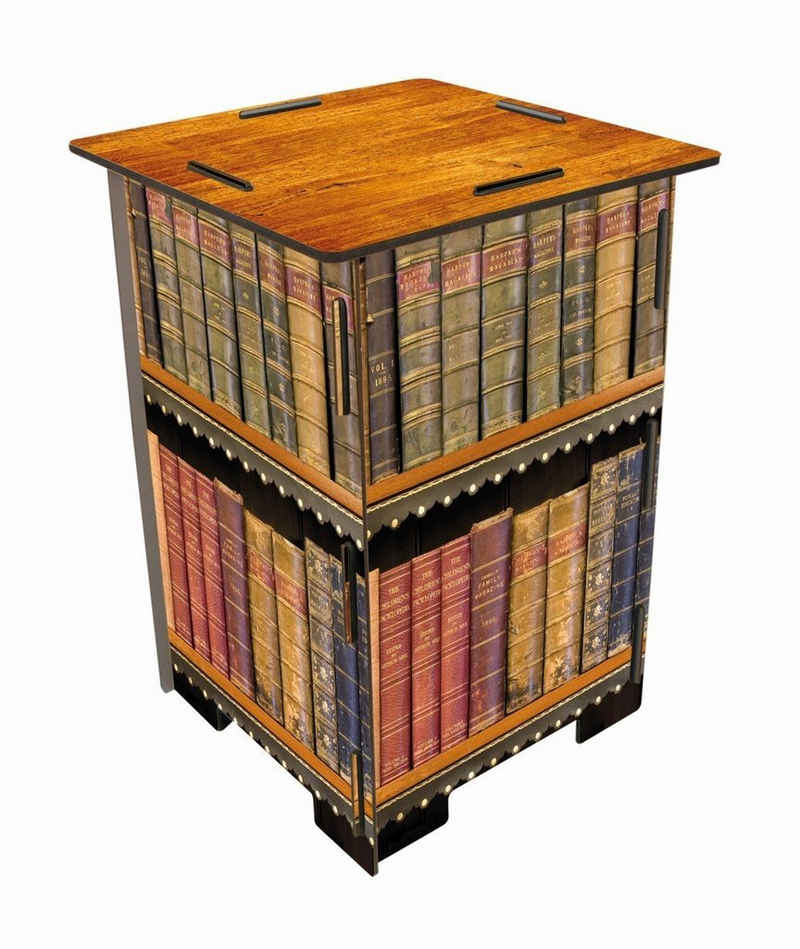 WERKHAUS® Hocker, Fotohocker 183 - Antike Bücher
