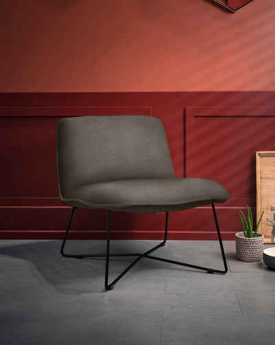 furninova Loungesessel »Fly«, gemütlicher Loungesessel im skandinavischen Design
