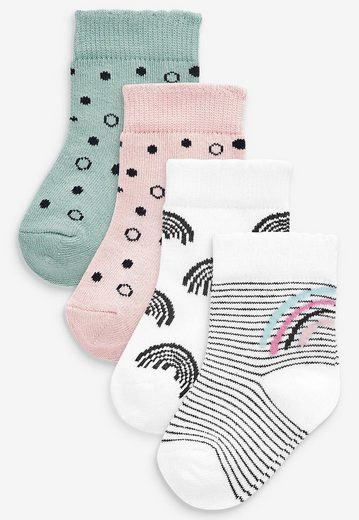 Next Kurzsocken »Regenbogen Socken im 4er-Pack« (4-Paar)