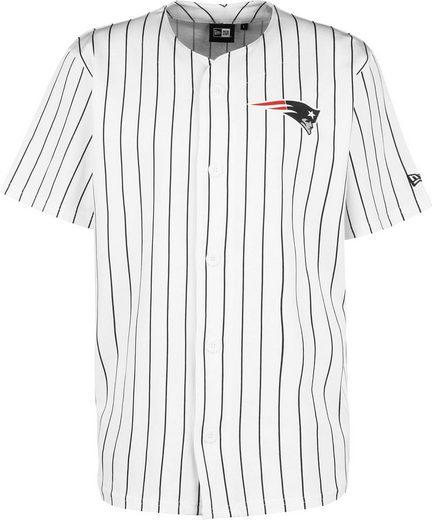 New Era Trainingsshirt »Patriots Pinstripe Baseball Jersey«
