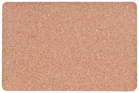 Kork-Platzmatten-Set, 4-tlg. 44x29 cm