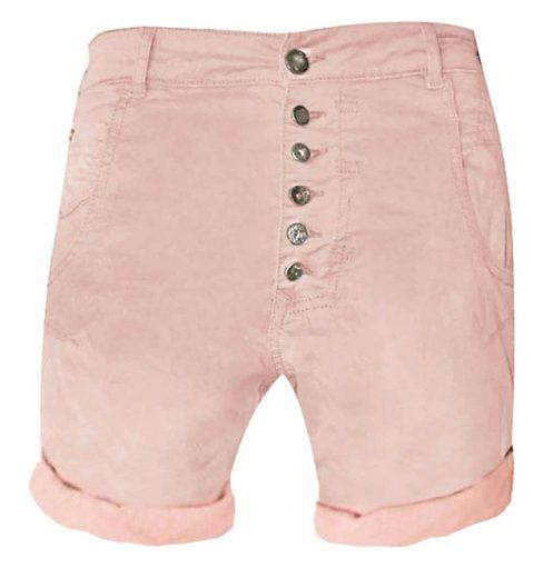 Zhrill Casualpants »Amy Shorts« Zhrill Damen Shorts Non Denim 5 Pocket Vintage Slim Fit Amy Shorts