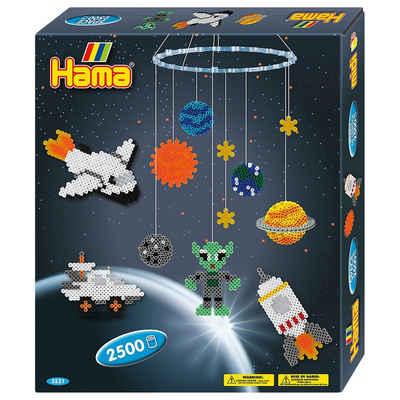 Hama Perlen Bügelperlen »HAMA 3231 Mobile Weltraum, 2.500 midi-Perlen &«