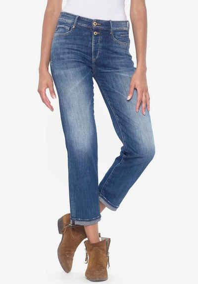 Le Temps Des Cerises Ankle-Jeans »BASIC« perfekter Sitz durch Elasthan-Anteil