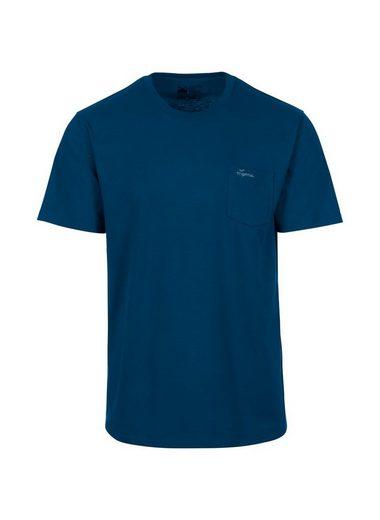 Trigema T-Shirt aus Biobaumwolle mit Brusttasche