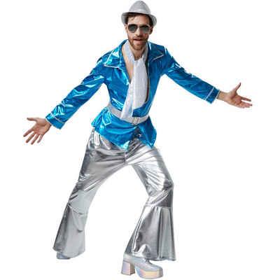 tectake Hippie-Kostüm »Herrenkostüm Disco Master«