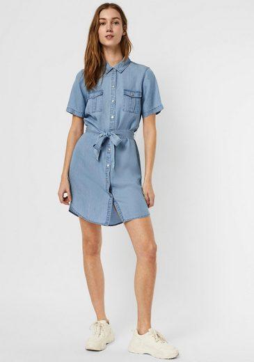Vero Moda Hemdblusenkleid »VMSILJA«