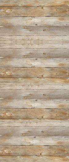 MySpotti Spritzschutz »fresh F2 Holz«, 90 x 210 cm