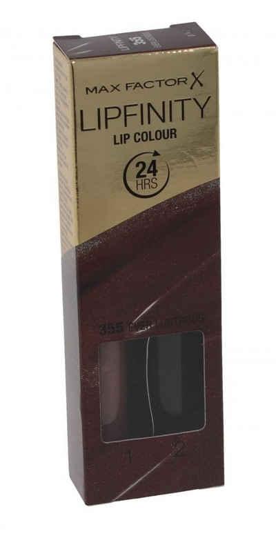 MAX FACTOR Lippenstift »Max Factor Lipfinity Lippenstift - 355 Ever Lustrous«