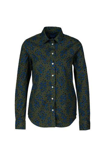Gant Hemdbluse »D2. Fall Flower Stretch Shirt«
