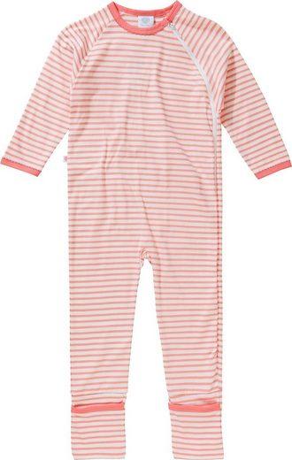 Sanetta Schlafanzug »Baby Schlafanzug für Mädchen, Organic Cotton«