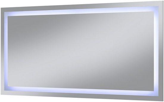 WELLTIME Badspiegel »Trento«, LED-Spiegel, 120 x 60 cm