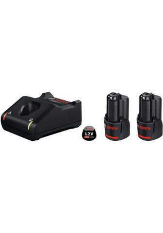Bosch Professional Powertools »GAL 12V-40 / GBA 12V 3.0Ah« Akku-Set ...