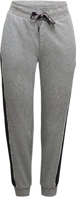 Hosen - esprit sports Jogginghose mit seitlichem Kontrast Reflektor Streifen ›  - Onlineshop OTTO