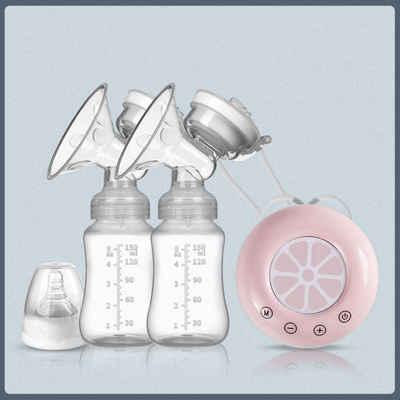autolock Elektrische Doppelmilchpumpe »Elektrische Milchpumpe einseitige und beidseitige Milchpumpe manuelle Silikon Milchpumpe Baby Stillzubehör«