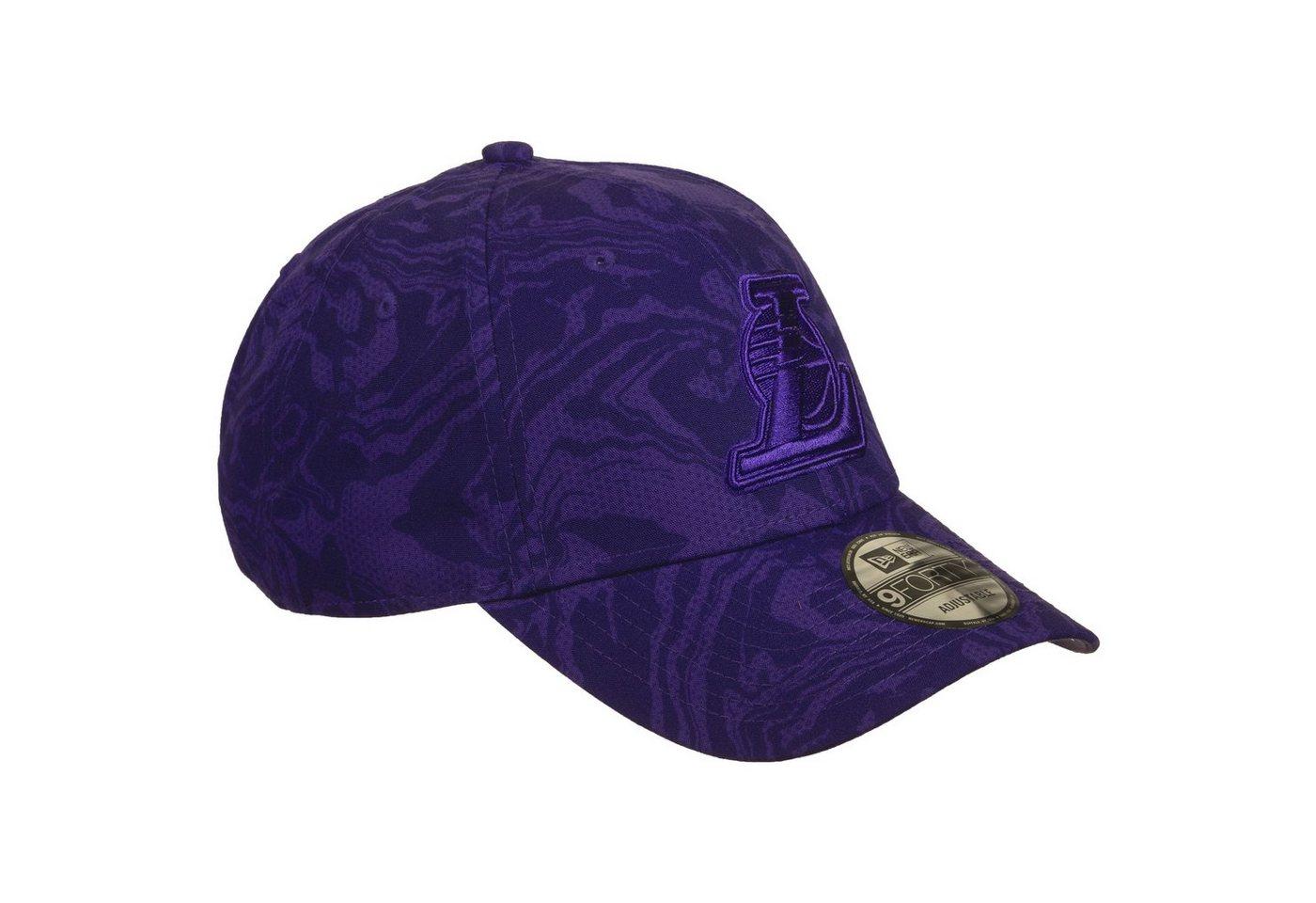 new era -  Baseball Cap »9Forty Nba Los Angeles Lakers Camo«