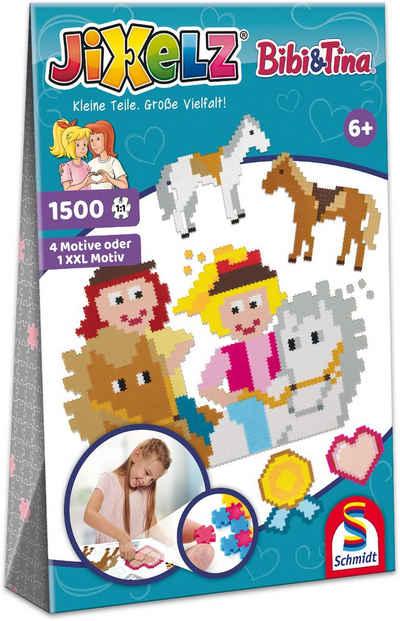 Schmidt Spiele Konturenpuzzle »Jixelz®, Bibi & Tina«, 1500 Puzzleteile