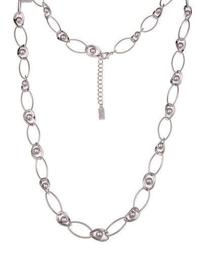 leslii Halskette aus modischen, ovalen Elementen