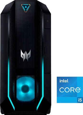 Acer Predator Orion 3000 (PO3-630) Gaming-PC (Intel® Core i5 11400F, GeForce RTX 3060Ti, 16 GB RAM, 1000 GB HDD, 512 GB SSD, Luftkühlung)