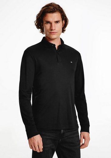 Calvin Klein Langarm-Poloshirt »LIQUID TOUCH SLIM LS POLO«