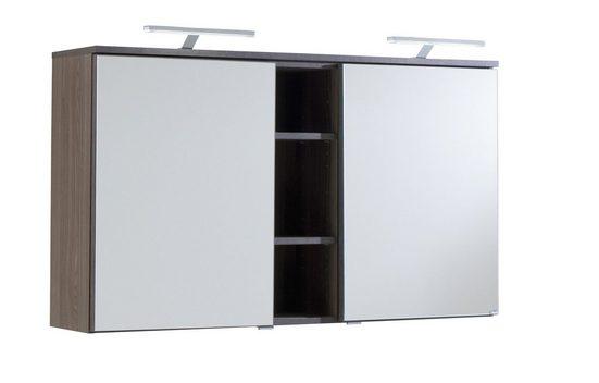 HELD MÖBEL Spiegelschrank »Prato«, Breite 120 cm