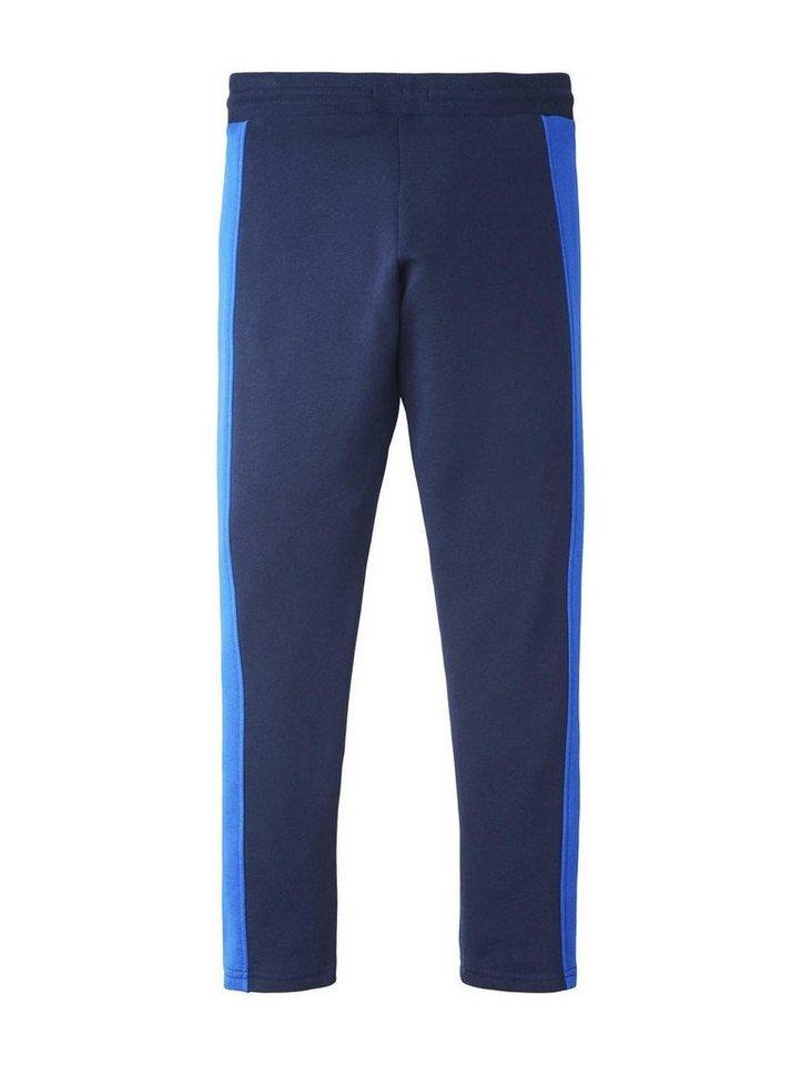 tom tailor -  Chinohose »Jogginghose mit seitlichen Streifen«