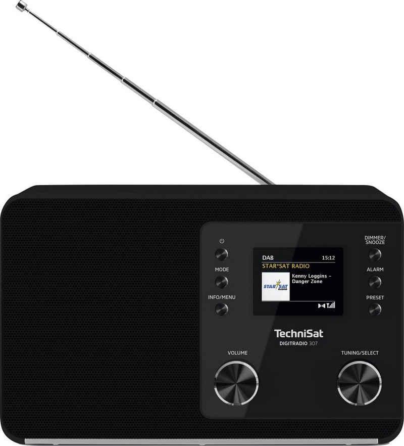 TechniSat »307« Digitalradio (DAB) (UKW mit RDS, Digitalradio (DAB), 5 W)