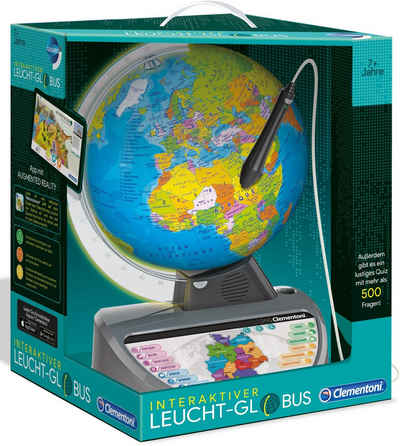Clementoni® Globus »Galileo Interaktiver Leucht-Globus«, Made in Europe