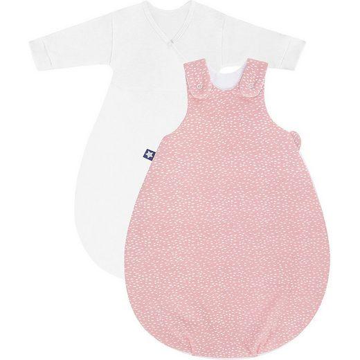 Julius Zöllner Babyschlafsack »Babyschlafsack Cosy Tiny Squares blush 74/80«