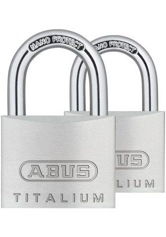ABUS Vorhängeschloss »64TI/40 Twins B/SB« (...