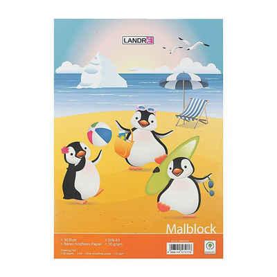 LANDRE Malblock »100050434«, DIN A3, 30 Blatt/ Block, Grammatur 70 g/m²