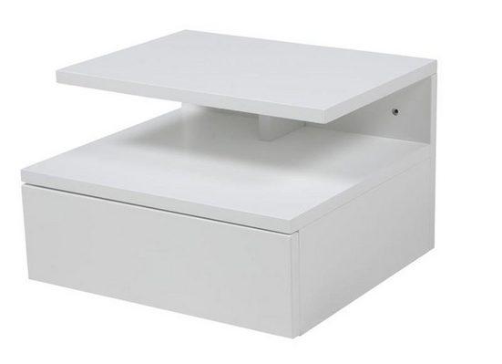 ebuy24 Nachttisch »Ashlan Nachttisch wandhängend mit 1 Schublade in w«