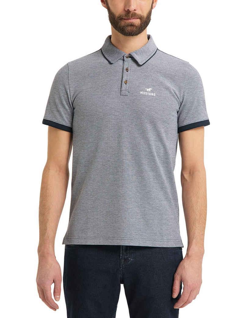 MUSTANG Poloshirt »Pablo PC 2 tone« T-Shirt