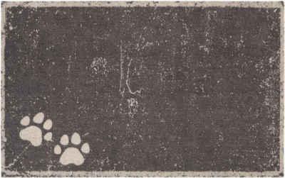 Fußmatte »Paws«, HANSE Home, rechteckig, Höhe 4 mm, Schmutzfangmatte