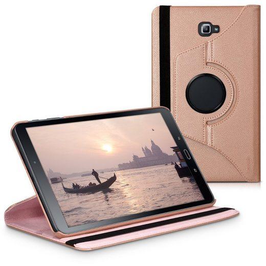 kwmobile Tablet-Hülle, Hülle für Samsung Galaxy Tab A 10.1 T580N/T585N (2016) - 360° Tablet Schutzhülle Cover Case aus Kunstleder