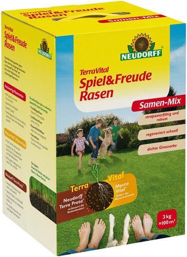 NEUDORFF Sport- und Spielrasen »TerraVital Spiel&Freude«, 3 kg