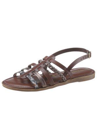 Tamaris »ISLA« Romėniški sandalai su dekoratyv...