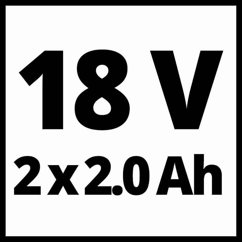 Einhell Akku-Schlagbohrschrauber »TE-CD 18/40 Li-i +64«, (Set, 67-tlg), Power X-Change, inkl. 2x 2,0 Ah PXC Akkus und Schnellladegerät