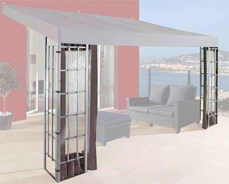 Quick Star Pavillonseitenteile »Rank«, mit 3 Seitenteilen, für 300x400 cm