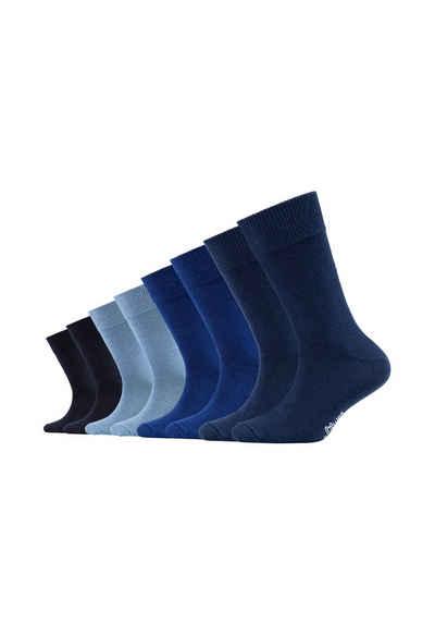 s.Oliver Socken (8-Paar) mit weichem Komfortbund