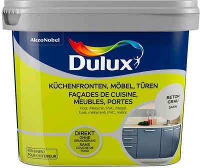 Dulux Holzlack »Fresh Up«, für Küchen, Möbel, und Türen, beton grau, 0,75 l