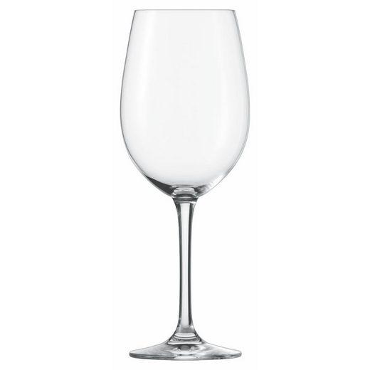 SCHOTT-ZWIESEL Gläser-Set »Classico Bordeauxpokal 6er Set«, Glas