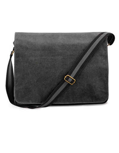 Quadra Messenger Bag »Umhängetasche Schultertasche«, Beschläge mit Antik-Messingeffekt