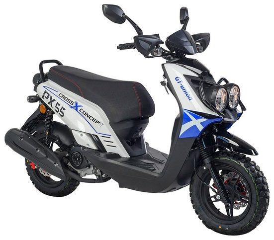 GT UNION Mofaroller »PX 55 Cross-Concept«, 50 ccm, 25 km/h, Euro 4