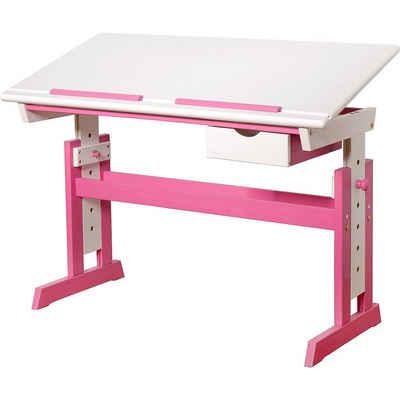 MyToys-COLLECTION Schreibtisch »Kinderschreibtisch PIJII, höhenverstellbar,«
