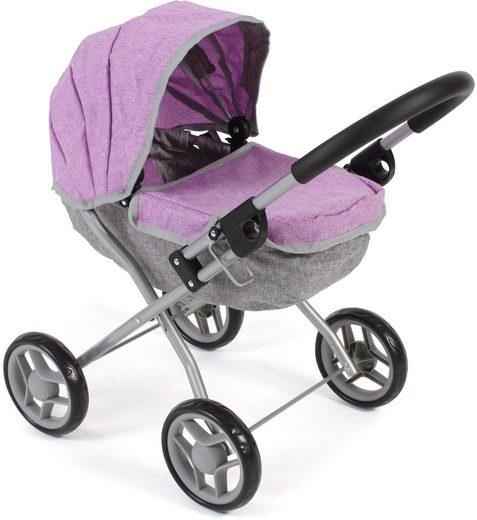 CHIC2000 Puppenwagen »Lilli, melange lila«, zusammenklappbar