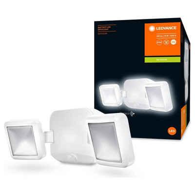 Ledvance LED Aufbaustrahler »LED Wandleuchte in Weiß 10W 480lm IP54«, Außenstrahler